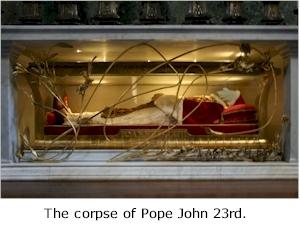Corpse of John 23rd